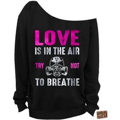 Ladies Valentine's Day Sweater Foil Anti Valentines Day Slouchy... ($28) ❤ liked on Polyvore featuring tops, hoodies, sweatshirts, dark olive, women's clothing, loose tops, graphic tops, unisex tops, graphic sweatshirts and loose fit tops
