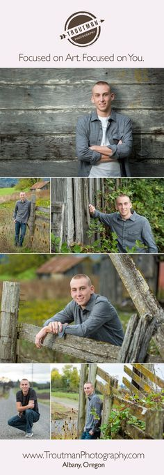 Country Senior Pictures | Senior Pictures for Guys | Outdoor Senior Portraits | Troutman Photography, Albany Oregon