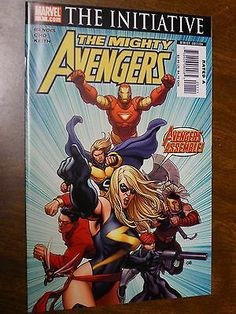 Comic The Mighty Avengers The Initiative 1 Marvel VF NM Bendis Cho | eBay