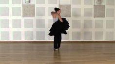 Técnica avanzada de bata de cola flamenca: Medias vueltas