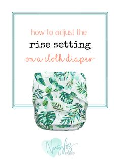 Curious about how to adjust the rise setting on your Nuggles Cloth Diaper? This video shows and example of how to adjust the rise setting on a pocket cloth d. Weaning Breastfeeding, Wash Cloth Diapers, Diaper Brands, Baby Led Weaning, Baby Play, Baby Feeding, Baby Sleep, Canada, Pocket