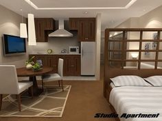 Tiny Studio Apartment Design Ideas Apartments Big For Small Endearing Awesome Interior