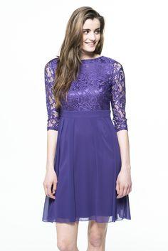 kort kjole fra Floyd - også i sort Marni, Dresses With Sleeves, Long Sleeve, Fashion, Moda, Sleeve Dresses, Long Dress Patterns, Fashion Styles, Gowns With Sleeves