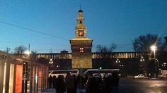 Castello Sforzesco spettacolo di luci