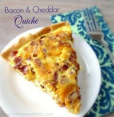 The Easiest Quiche Recipe Ever Plus 4 Variations! PERFECT FOR CHRISTMAS MORNING!