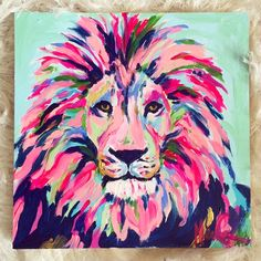 Megan Carn | You're Lion! Print