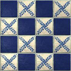 LeMog - 3dTextures - Carrelage Azuleros Bleus 2 - Tiles/318 beaulieu
