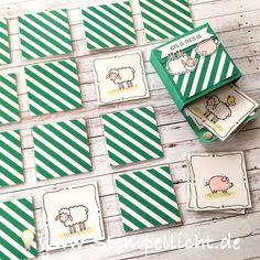 Stempellicht: Memory - Spiel für Kinder ganz einfach selbst gemacht...