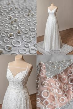 Beaded Wedding Gowns, Wedding Lace, Lace Weddings, Wedding Dresses, Bridal Lace Fabric, Pearl And Lace, 2 Colours, Ivory, Yard