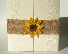 Popular items for burlap sunflowers on Etsy