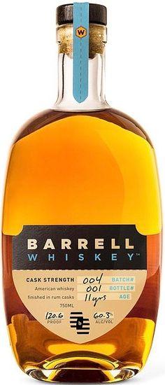 Review 214: Barrell Whiskey Batch 004 http://ift.tt/2H5SEWy