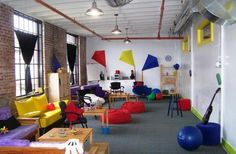 an example of a creative workspace