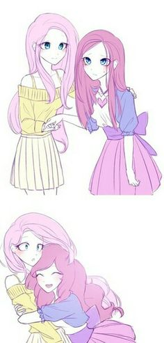 Pinkie Pie e Luna Set Coppie di Amici B6b My Little Pony