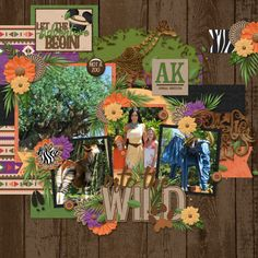 Into the Wild - MouseScrappers - Disney Scrapbooking Gallery
