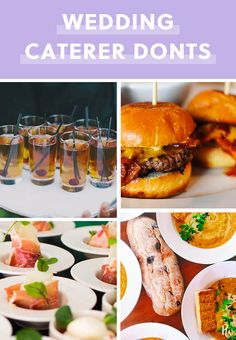 20 Things a Caterer Would Never Serve at Her Own Wedding Gourmet Breakfast, Breakfast For Dinner, Breakfast Recipes, Wedding Catering, Wedding Menu, Wedding Ideas, Wedding Advice, Wedding Veils, Wedding Cards