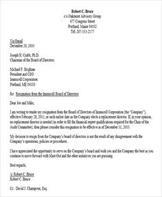 Best resignation letter for personal reasons resignation letter for letter of resignation board of directors corporate resignation letter templates free word pdf format thecheapjerseys Choice Image