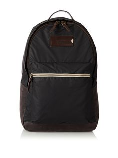Property Of... Men's Xavier Backpack (Black) Classic style with durable canvas lined base, 1 exterior zip pocket, 1 interior slip pocket ideal for electronics, 1 interior zip pocket BackpackBags #Backpacks