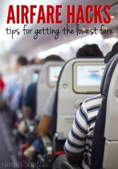 Tired of paying a fortune for airfare? Here are 6 Ways to Save on Airline Flights. Simple hacks you can try to get the lowest price. You may already know some but a couple were completely new to me!