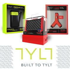 For Great Tech Product Design and Packaging? Meet TYLT. Mobile accessories for your smartphone and tablet.