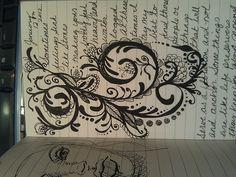 doodle flourishing