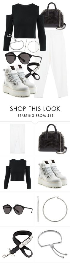 """""""Untitled #21046"""" by florencia95 ❤ liked on Polyvore featuring STELLA McCARTNEY, Puma, Christian Dior, Givenchy and Monica Vinader"""