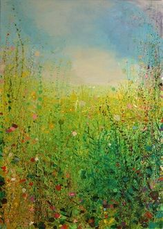 """Saatchi Online Artist Sandy Dooley; Painting, """"Shade and Sun, Hot Day"""" #art"""