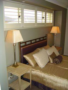 Bedroom shutters. Bedroom Shutters, Bedroom Windows, Window Shutters, Bunk Beds, Cosy, Warm, Furniture, Home Decor, Blinds