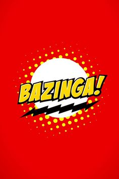 The Big Bang Theory Bazinga #iPhone 4s #Wallpaper