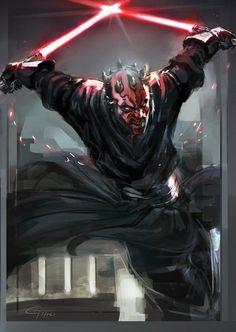 Darth Maul - http://jimbobox.deviantart.com/