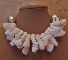 AW WHITE BRANCHES OCEAN JEWELRY MADE IN USA OCEAN BRIDAL WEDDING