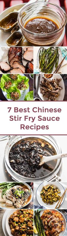 7 Best Chinese Stir Fry Sauce Recipes Z Stir Fry Recipes, Sauce Recipes, Chicken Recipes, Cooking Recipes, Best Stir Fry Recipe, Chinese Stir Fry Sauce, Asian Stir Fry, Chimichurri, Mole