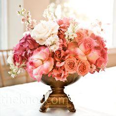 center piece flowers
