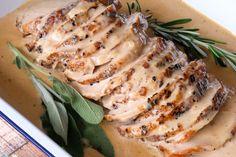 Pork Loin in Cognac Sauce