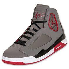 cfd89fea1524 Men s Jordan Flight Luminary Basketball Shoes gray and red Jordans For Men