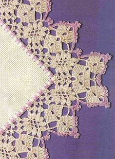 Beautiful crochet borders