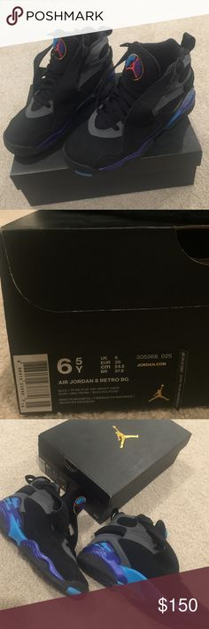 Jordan Retro 8's 6.5 boys and 8-8.5 women Jordan Shoes Sneakers