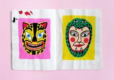 Stephanie Unger Cute Illustration, Portrait Illustration, Book Design, Art Inspo, Illustrations Posters, Art Drawings, Character Design, Artsy, Artwork