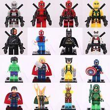 set Arrow Loki Deadpool X-Men Batman Superman Minifigures custom lego Lego Deadpool, G Man, Lego Dc, Lego Super Heroes, Custom Lego, Batman And Superman, Dc Universe, Birthday Wishes, Loki