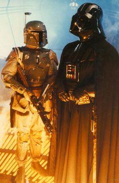 Boba Fett and Darth Vader - Star Wars