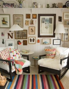 Hang your favourite items on the walls or display them on high shelves – that way, you get to enjoy them all the time