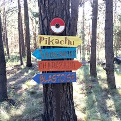 Pokemon Go Sign Set Pikachu Charizard Blastoise Venusaur Pokemon Decor, Pokemon Room, Pokemon Party, Pokemon Birthday, Birthday Party Games, 9th Birthday, Birthday Ideas, Pokemon Locations, Pokemon Halloween