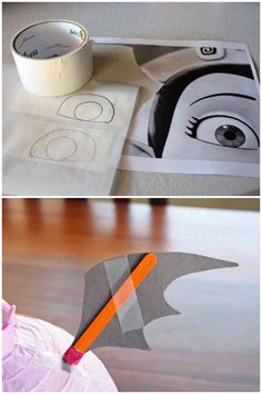 How to make a Disney Junior Vampirina Paper Lantern