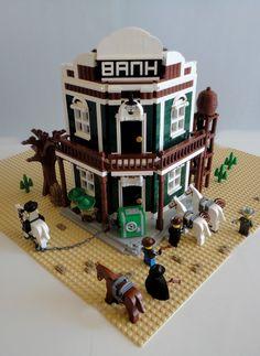https://flic.kr/p/cBrHPN | LEGO MOC Western Bank 001