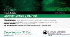 Charla Debate Ambiente Conflicto y Soberania en Luján