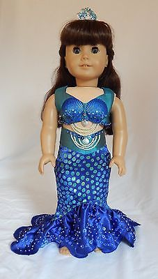 Ooak-Mermaid-Costume-for-American-Girl-Dolls-Mary-Ellen-Samantha-etc