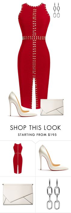 """""""Untitled #841"""" by angela-vitello on Polyvore featuring Christian Louboutin, Kendall + Kylie and Alexander Wang"""