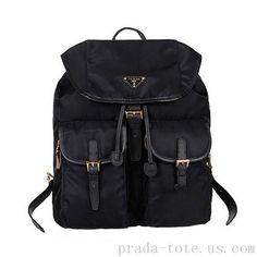 2c4647849c8b Discount  Prada Nylon Drawstring Backpack Bag onnline sale