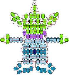 Toy Story Alien pony beads pattern
