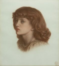 May Morris Artist: Dante Charles Gabriel Rossetti. Daughter of Rossetti's mistress Jane Morris and designer/artist William Morris. Dante Gabriel Rossetti, Pre Raphaelite Brotherhood, Edward Burne Jones, Dance Art, Arts And Crafts Movement, Romanticism, Portraits, William Morris, The Girl Who