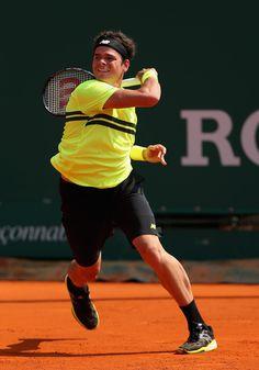 Milos Raonic Photos - ATP Masters Series Monte Carlo: Day 4 - Zimbio